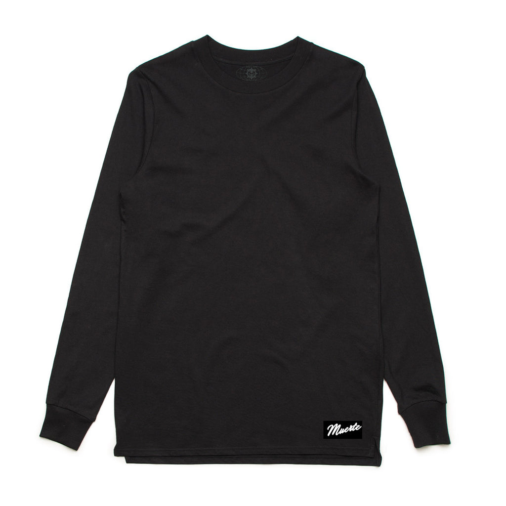 Black Long Sleeve Tee - Basic