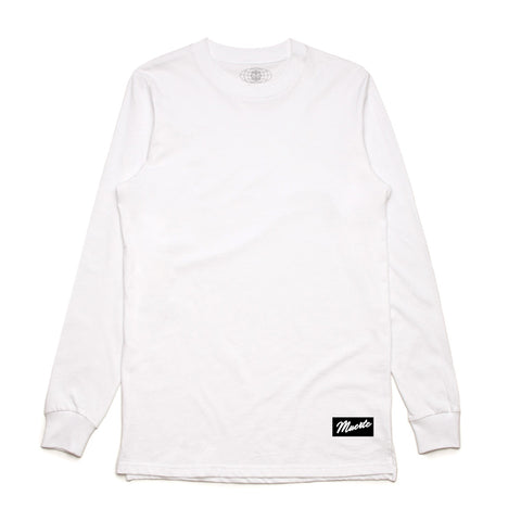 White Long Sleeve Tee - Basic