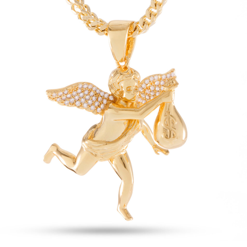 jewellery necklace angel guardian pendant equilibrium