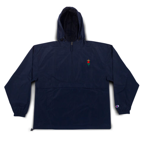 Champion Rose Halo Embroidered Anorak - Navy