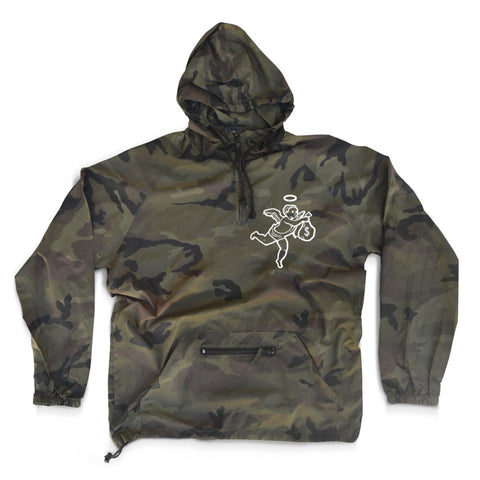 GREEN CAMO ANGEL WINDBREAKER
