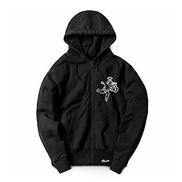 Get Money Angel Zip-Up Hoody