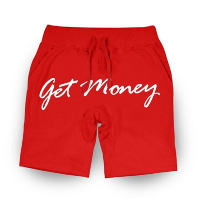 Get Money Script Shorts - RED