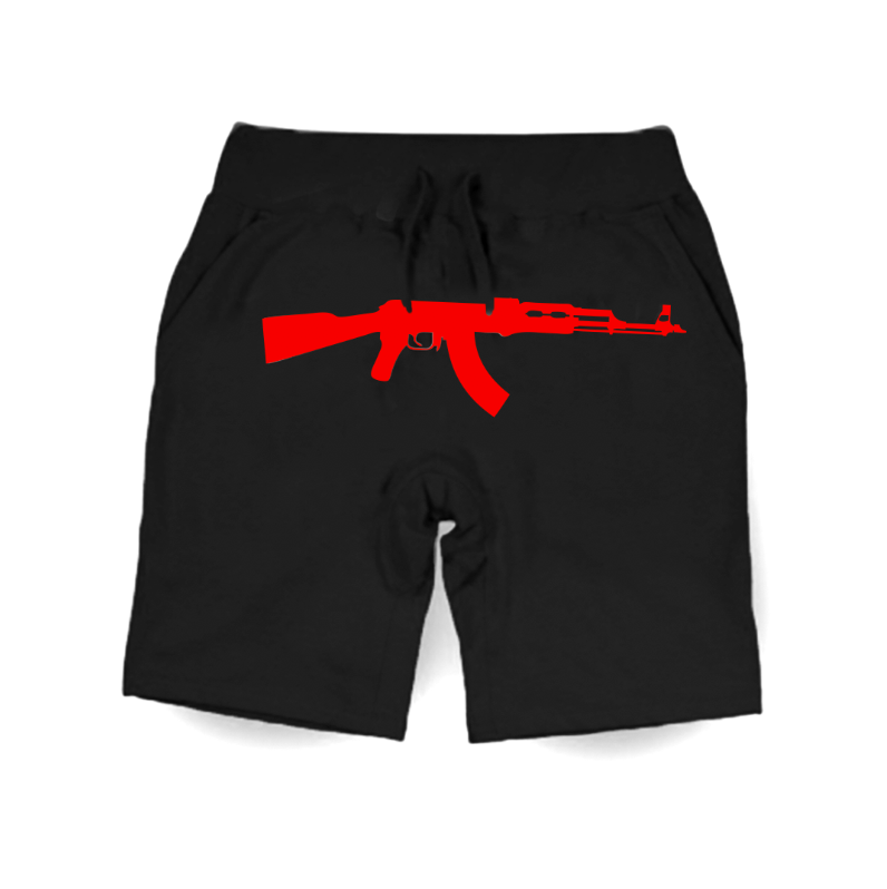 Infrared AK Classic Shorts - Black/ Red