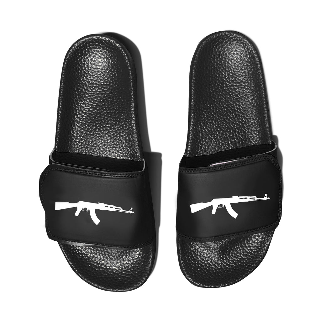 Black AK Slides