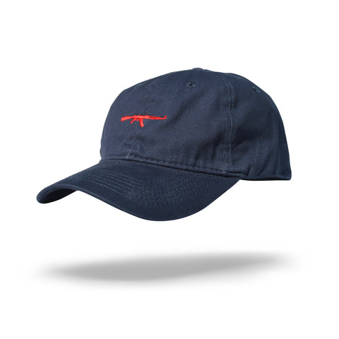 AK Dad Hat Navy/Red