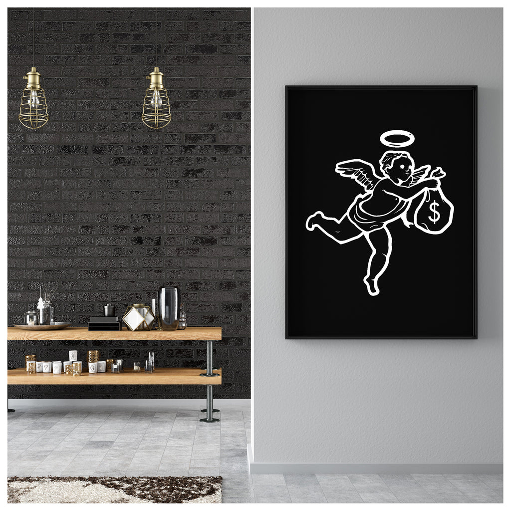 Angel Canvas Poster
