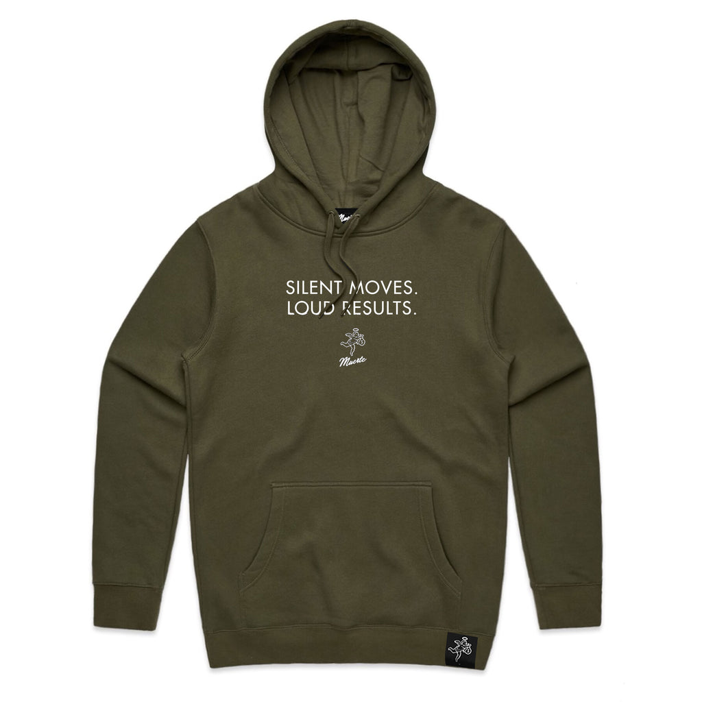 DP QT Silent Moves Loud Results Hoodie - CLR