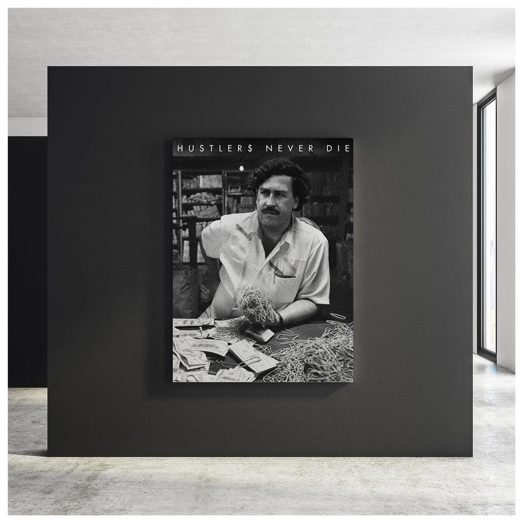Pablo Bands Canvas Poster