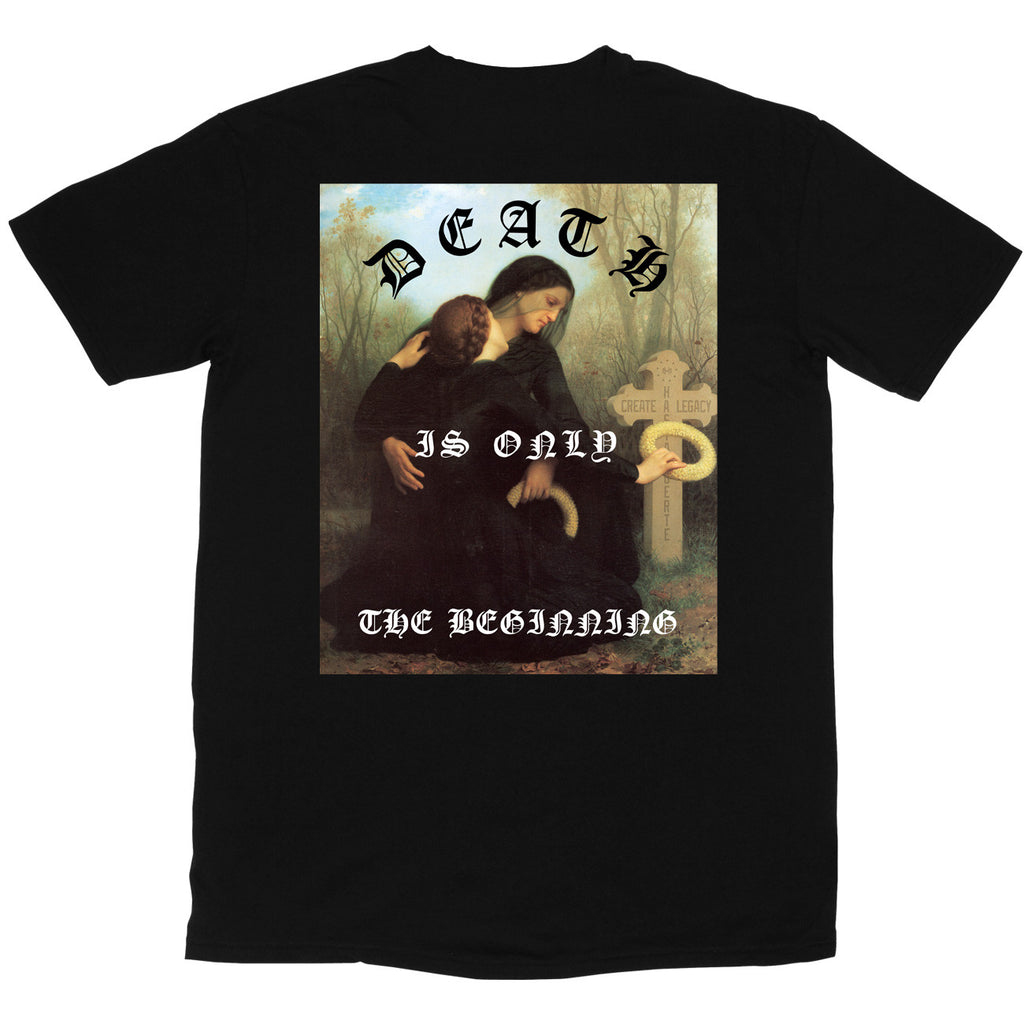 Death Is Only (black) (front/back)
