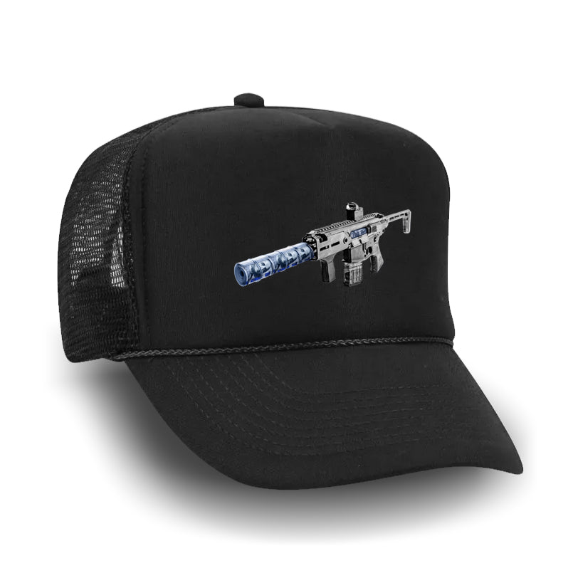 Hustle In Silence Trucker Hat