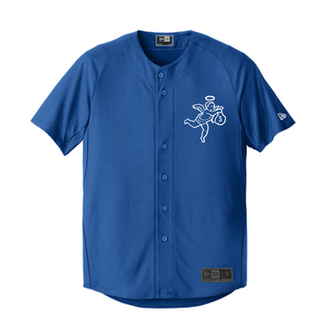 Get Money Angel New Era Jersey -Royal
