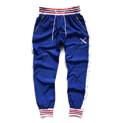AK Survival x Hustle Daily Track Pants - Royal