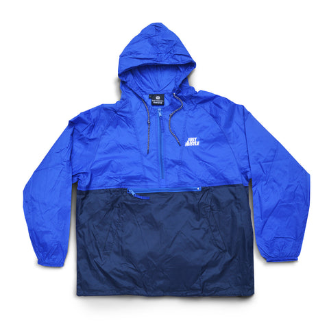 Just Hustle Windbreaker Blue/Navy
