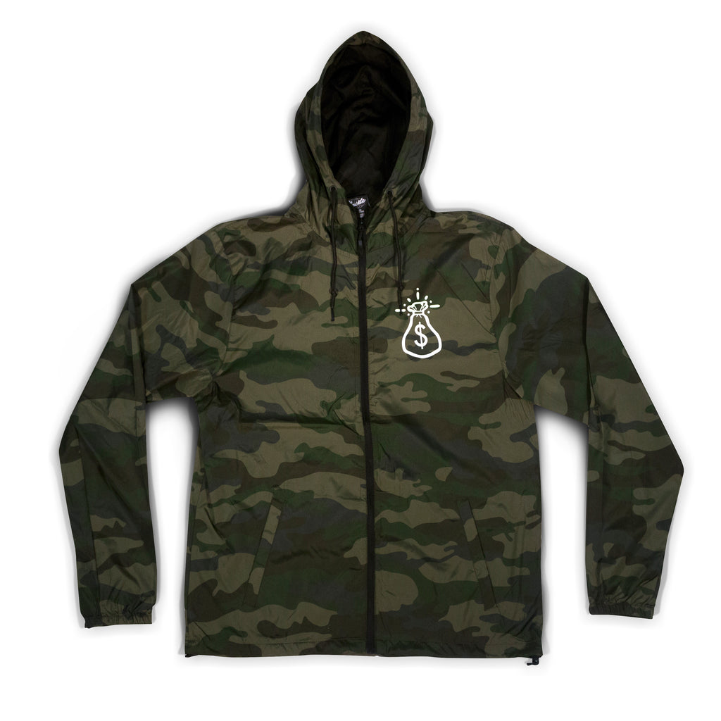 Camo Money Bag Lightweight Jacket