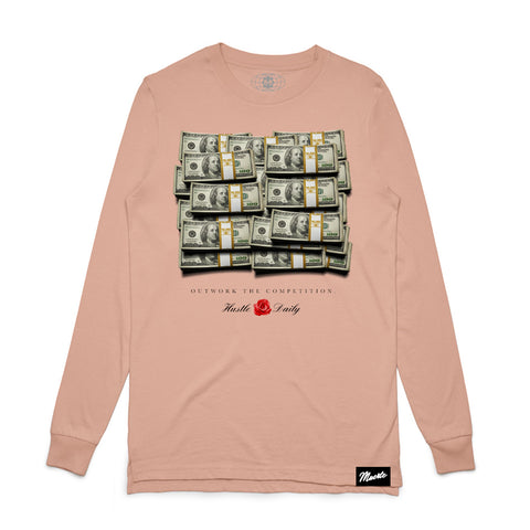 Cash Stacks Long Sleeve