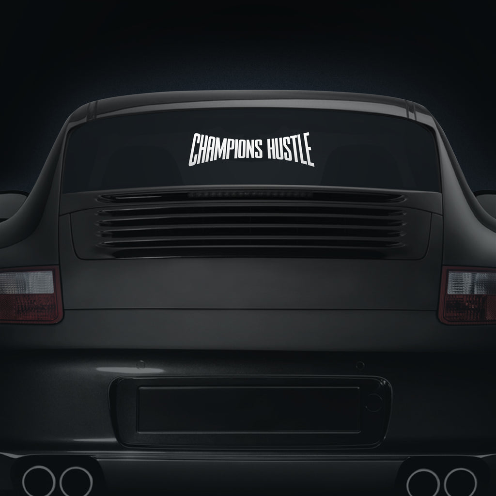 Champion Hustle - Car Decal