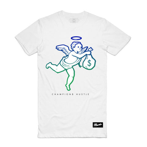 Champions Angel Gradient White