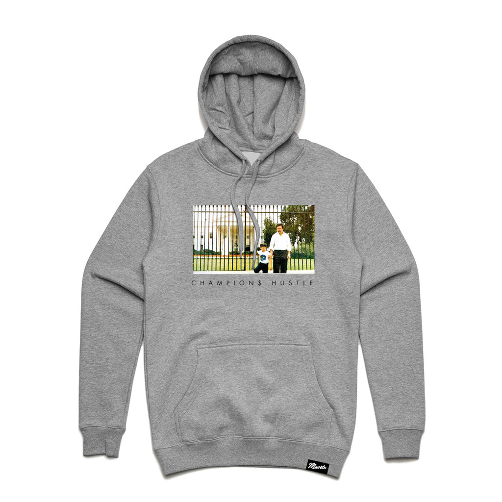 Pablo Champions Hustle Hoody - Heather Grey