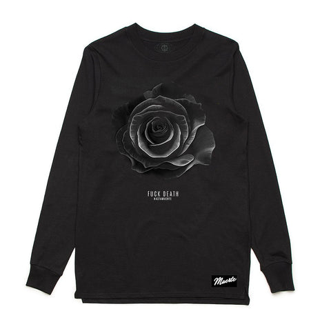 F Death Rose LS Black