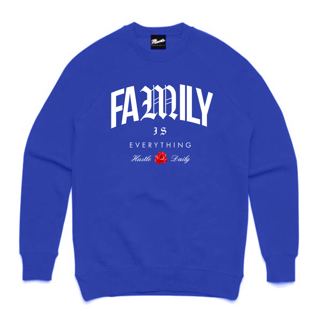 Family Is Everything Crewneck CLR