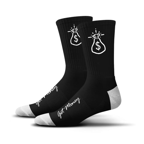 Money Bag Socks (black)