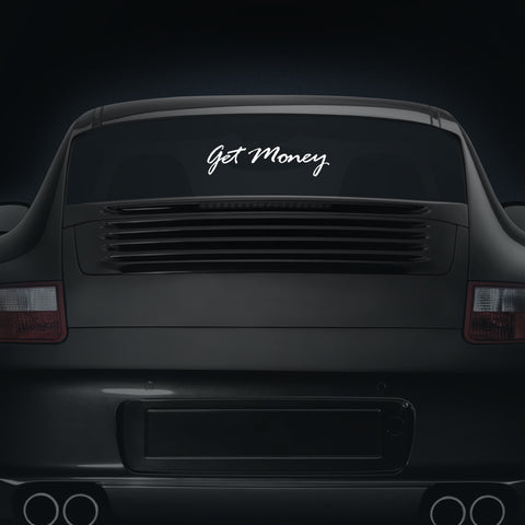 Get Money Script - Car Decal