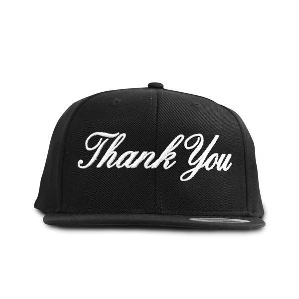 Thank You Snapback- Black