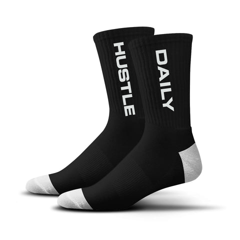 Hustle Daily Socks (black)