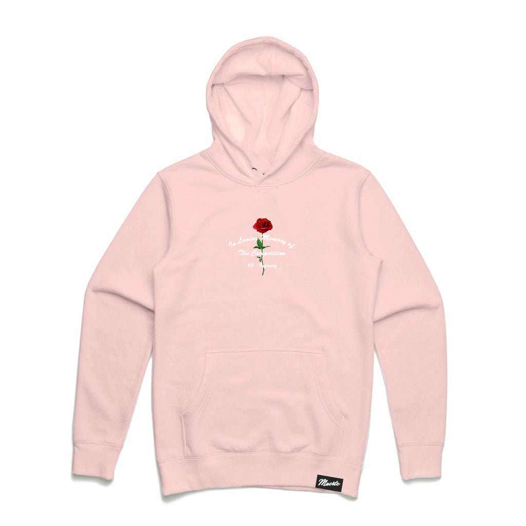 In Loving Memory Embroidered hoodie