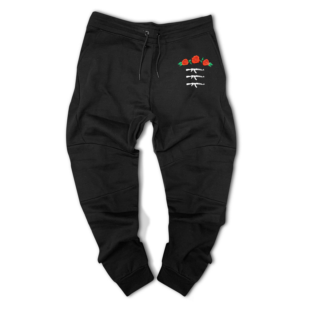 3 AK Rose Seal Paneled Jogger