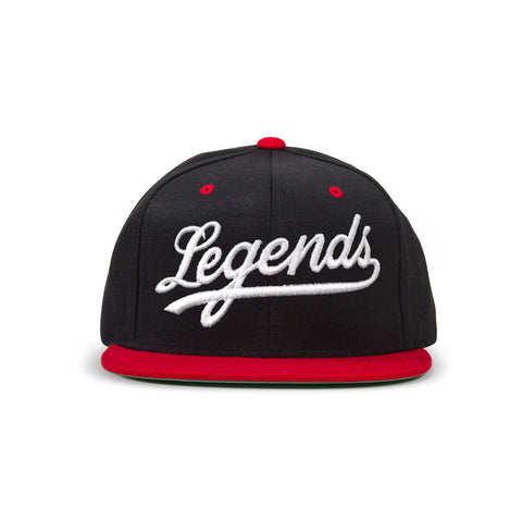 Legends Snapback - Blk/Red