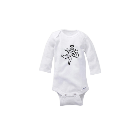 Longsleeve Small Angel Onesie