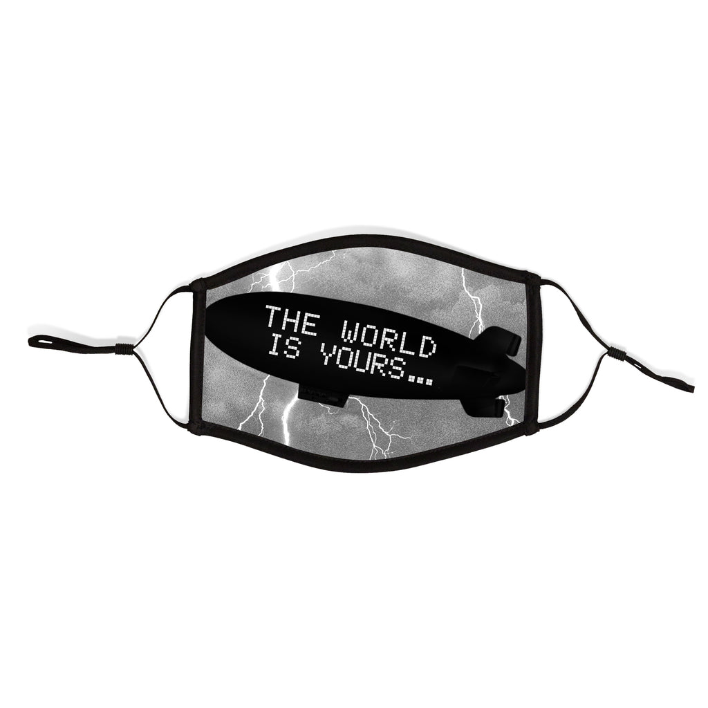The World Is Yours Adjustable Facemask