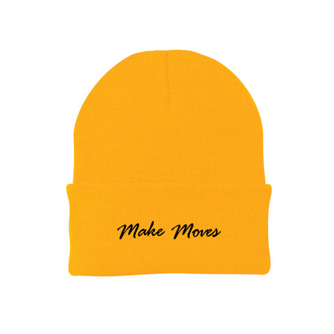 Make Moves Knit Cap Beanie