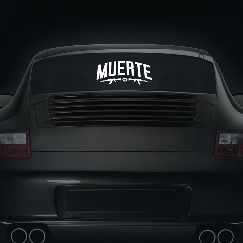 Muerte AK - Car Decal