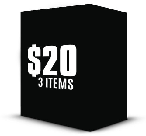 3 for $20 Mystery Box