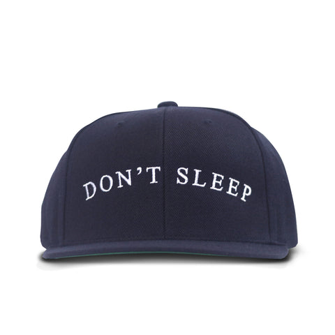 Don't Sleep Snapback Navy