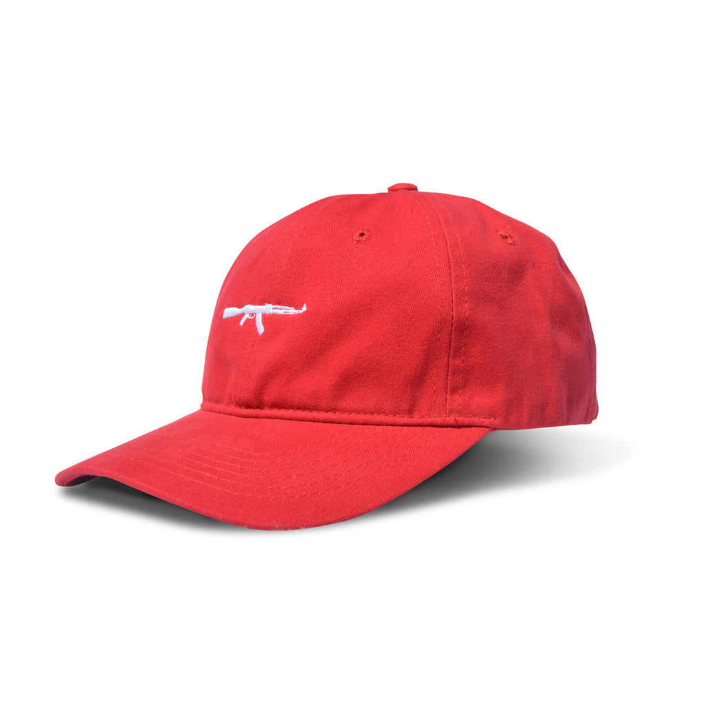 AK Dad Hat Red/White