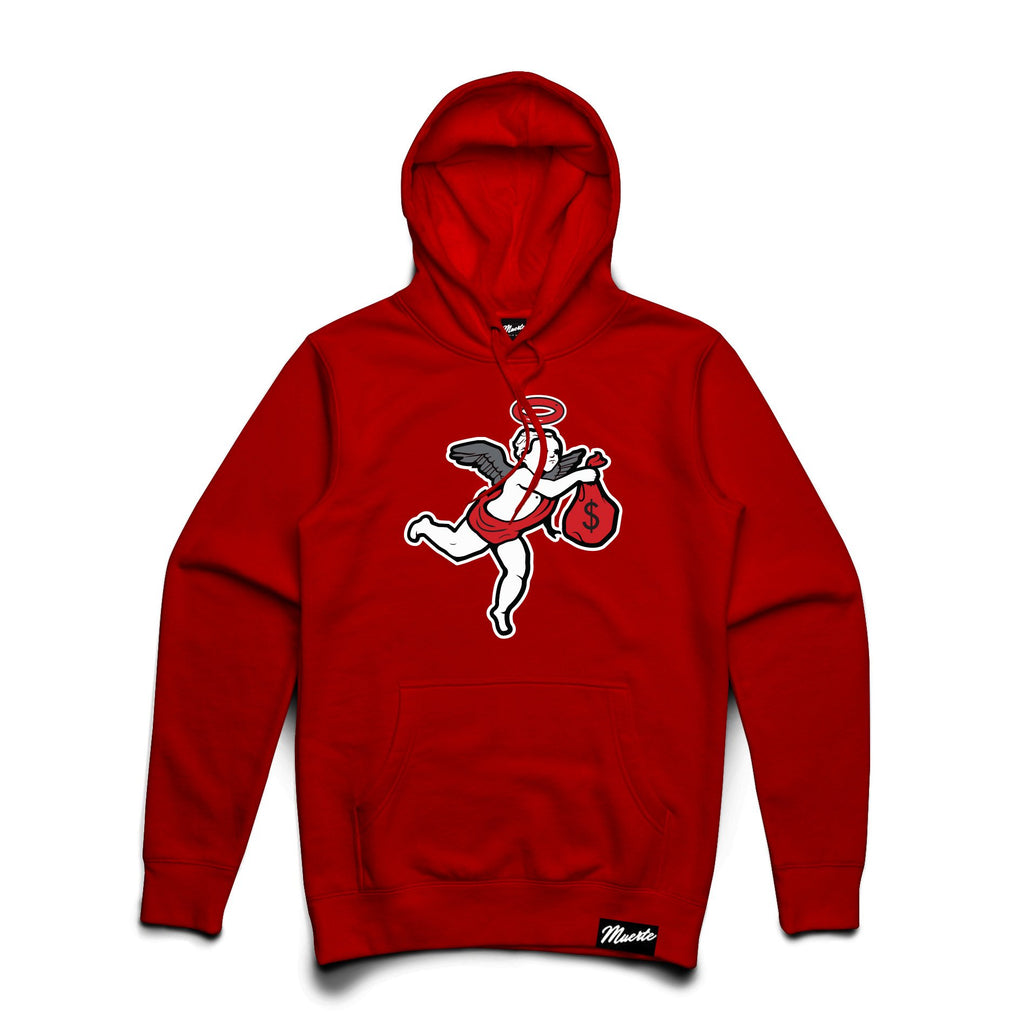 J11 Chenille Patch Angel Hoodie Big and Tall