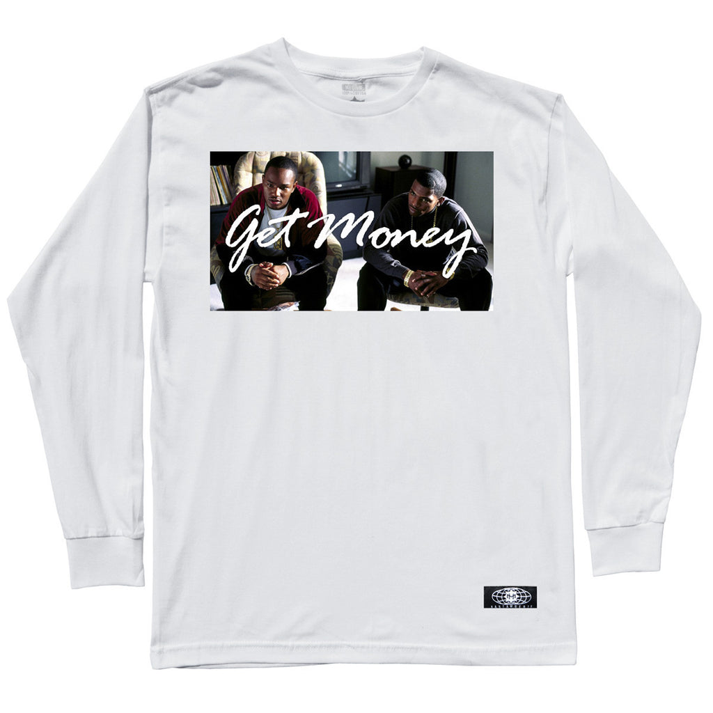 GET MONEY RICO LS White
