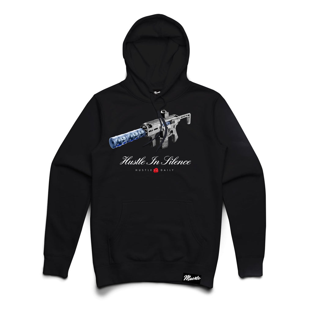 HUSTLE IN SILENCE HOODIE Big and Tall