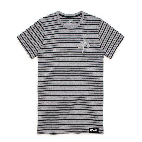 SILVER ANGEL STRIPE TEE