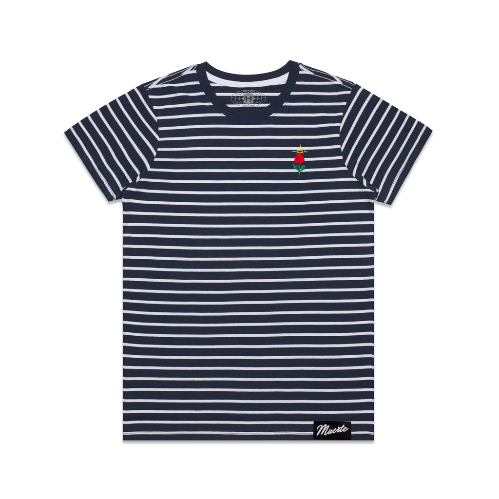 Rose Stripe Tee - women