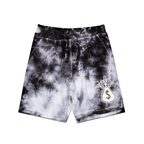 Money Bag Che Black Crystal Shorts