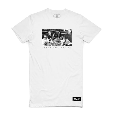 Hustlers Circle Champions Hustle (White)