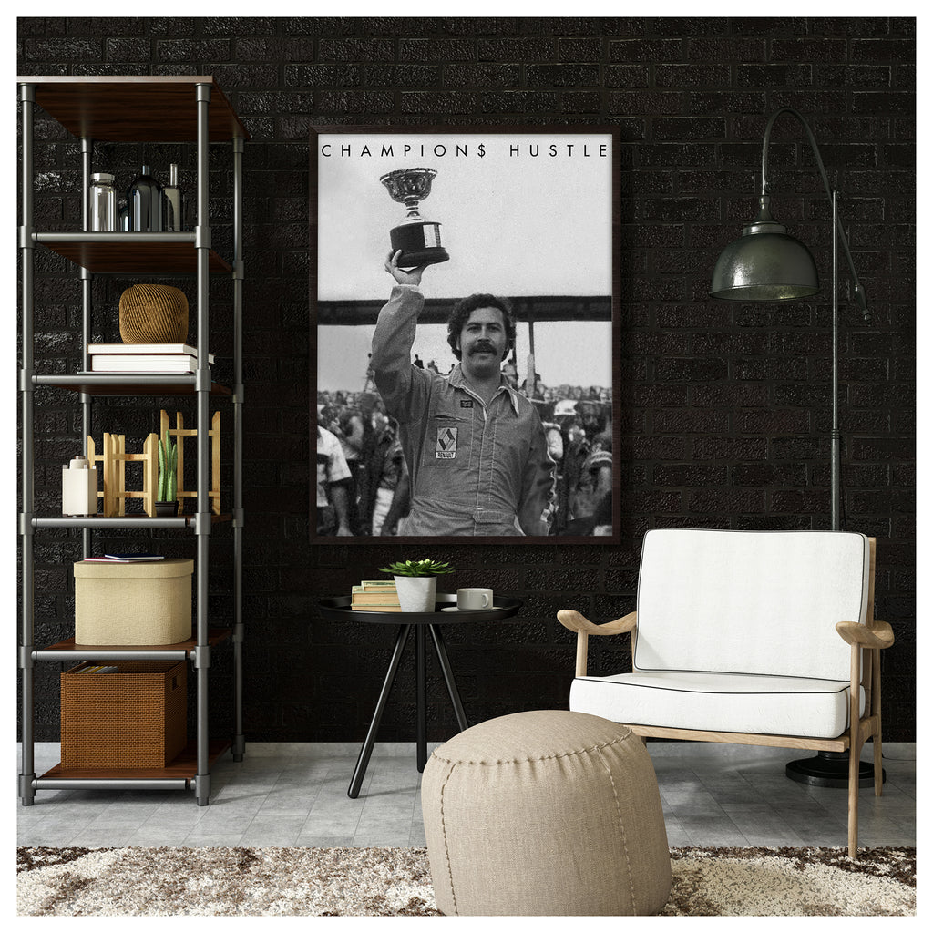 Winners Circle Canvas Poster