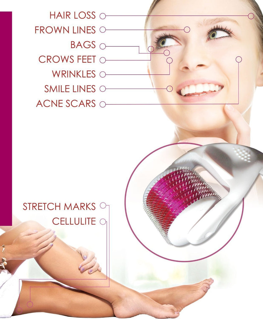 What Serum To Use With Derma Roller For Acne Scars Picture Gallery 540 Needles Skin Face Scar Microneedles 10mm 10 Mm Needle Length And Titanium Alloy Free Shipping
