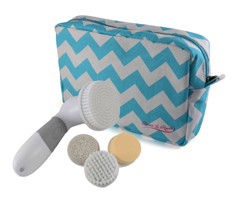 Face and Body Skin Cleansing System with Storage Bag