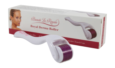 Derma Roller .5 mm Needle Length and 540 Titanium Alloy Needles - FREE Shipping